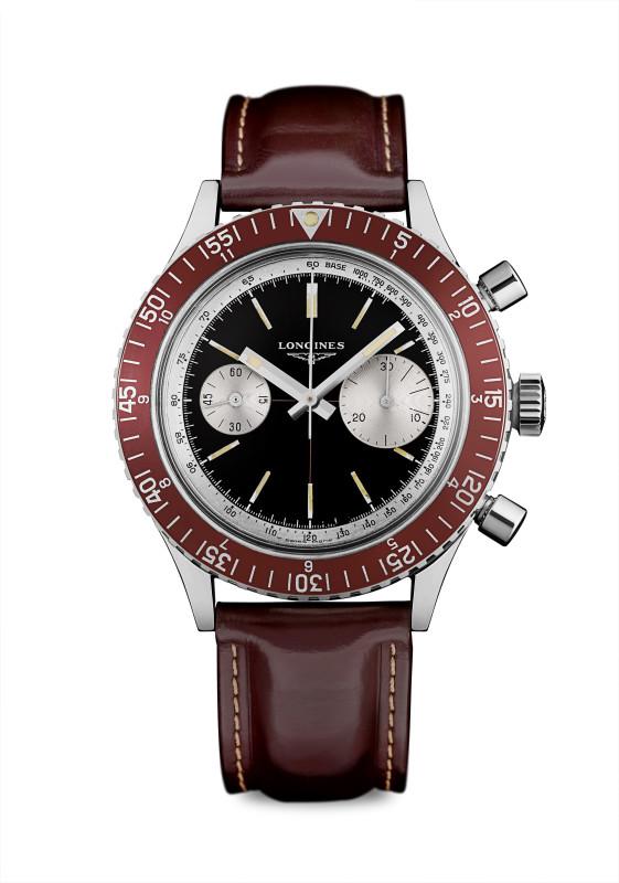 浪琴表復刻系列1967復刻潛水腕錶_原創錶款