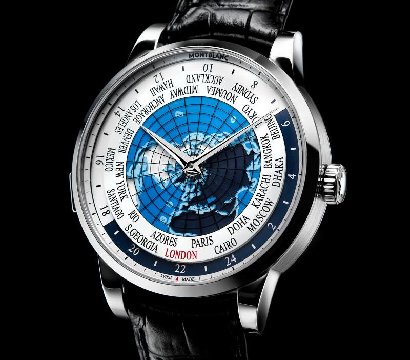 Montblanc Heritage Spirit Orbis Terrarum World Time 3